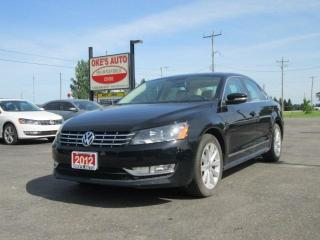Used 2012 Volkswagen Passat 2.0L TDI SE AT for sale in Alvinston, ON