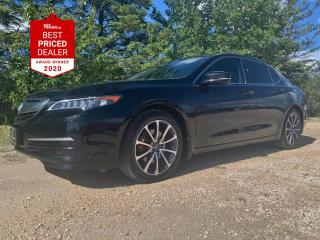 Used 2016 Acura TLX SH-AWD TECH *NAVIGATION - SUNROOF - CLEAN HISTORY* for sale in Winnipeg, MB