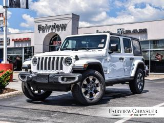 New 2020 Jeep Wrangler Unlimited Sahara for sale in Burlington, ON