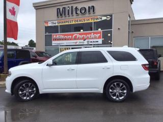 Used 2019 Dodge Durango GT AWD|LEATHER|NAVIGATION|DVD|SUNROOF|REMOTE START for sale in Milton, ON