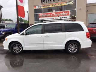 Used 2015 Dodge Grand Caravan SXT|DVD|BACK UP CAMERA|NAVIGATION|TRAILER TOW for sale in Milton, ON