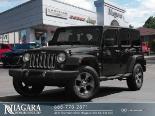 Used 2018 Jeep Wrangler JK Unlimited Sahara LEATHER for sale in Niagara Falls, ON