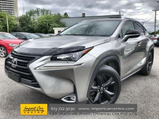 Used 2017 Lexus NX 200t SE PACK  HEAT STEER WHEEL  ROOF  BLIS  BACKUP CAME for sale in Ottawa, ON