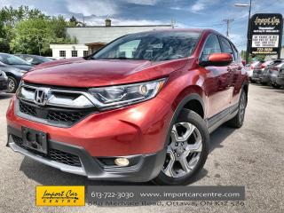 Used 2017 Honda CR-V EX-L LEATHER  ROOF  BLIS  ADAPTIVE CRUISE for sale in Ottawa, ON