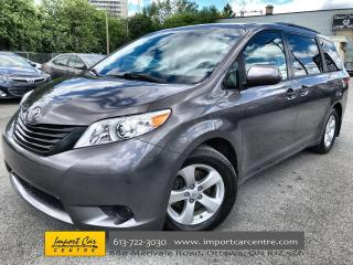 Used 2014 Toyota Sienna 7 Passenger 7 PASSENGER  ALLOYS  ONLY 91 000KMS!! for sale in Ottawa, ON