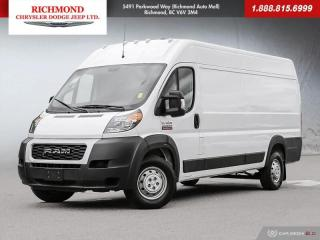 Used 2019 RAM 3500 ProMaster High Roof for sale in Richmond, BC
