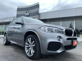 Used 2016 BMW X5 xDrive35i AWD TURBO M-SPORT NAVI SUNROOF REAR CAME for sale in Langley, BC