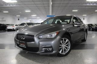 Used 2014 Infiniti Q50 NO ACCIDENTS I AWD I NAVIGATION I SUNROOF I REAR CAM I BT for sale in Mississauga, ON