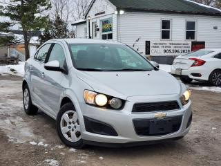 Used 2014 Chevrolet Sonic Gas Saver Power Group Cruise A/C Bluetooth for sale in Sutton, ON