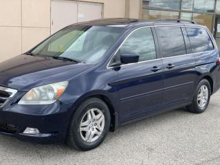 Used 2007 Honda Odyssey 2007 HONDA ODYSSEY TOURING DVD/NAV/POWER SILDING DOORS for sale in Brampton, ON