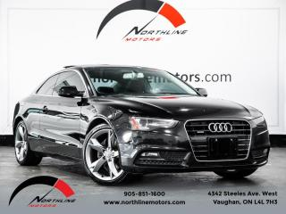 Used 2014 Audi A5 Coupe|6 Speed|Backup Camera|Heated Leather|Sunroof for sale in Vaughan, ON