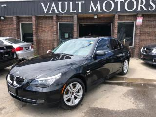 Used 2009 BMW 5 Series 4dr Sdn 528i xDrive AWD ONE OWNER NO ACCIDENT   27  SERVICE for sale in Brampton, ON