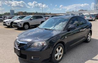 Used 2008 Mazda MAZDA3 4dr Sdn 1 YEAR ENGINE/TRANSMISSION WARRANTY INCLUDED for sale in Brampton, ON