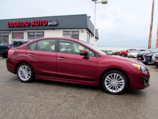 Used 2013 Subaru Impreza Limited AWD Auto Navigation Camera Leather Certified for sale in Milton, ON