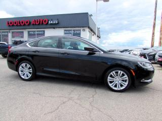 Used 2015 Chrysler 200 Limited Navigation Camera Bluetooth Certified for sale in Milton, ON