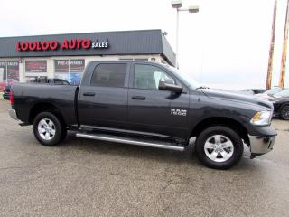 Used 2014 RAM 1500 Tradesman Crew Cab 4WD 3.6L V6 Camera Bluetooth Certified for sale in Milton, ON