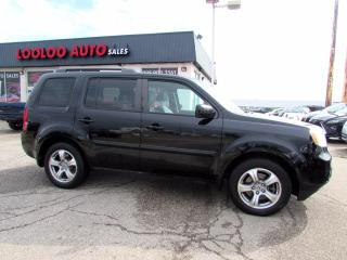 Used 2013 Honda Pilot EX-L 4WD 8 Passenger DVD Camera Bluetooth Certified for sale in Milton, ON