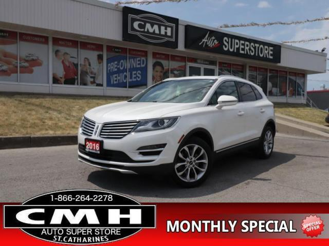 2016 Lincoln MKC Select  AWD NAV CAM PANO-ROOF BLIND-SPOT P/GATE