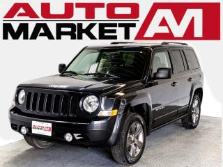 Used 2015 Jeep Patriot Sport 4WD CERTIFIED,Leather,WE APPROVE ALL CREDIT for sale in Guelph, ON