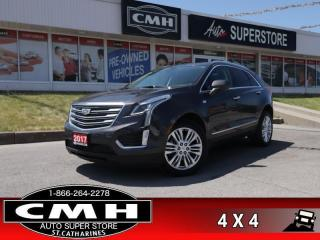Used 2017 Cadillac XT5 Premium Luxury  AWD NAV ROOF CS HS HTD-S/W for sale in St. Catharines, ON