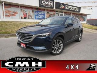 Used 2019 Mazda CX-9 GS-L AWD  AWD LEATH ROOF CAM APPLE-PLAY BS for sale in St. Catharines, ON
