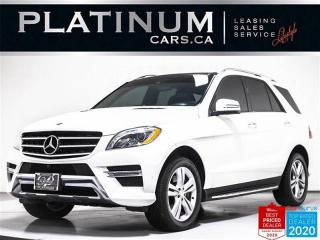 Used 2015 Mercedes-Benz ML-Class ML 350 BlueTEC, DIESEL, AWD, NAV, SUNROOF, PARKING for sale in Toronto, ON