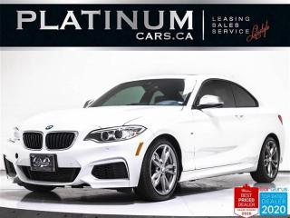 Used 2016 BMW 2-Series M235i, 301HP, M-SPORT, MANUAL, NAV, CAM, HEATED for sale in Toronto, ON