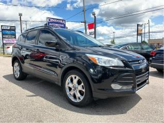 Used 2013 Ford Escape SE AWD, Nav, Leather, Heated Seats, Remote Start for sale in Caledonia, ON