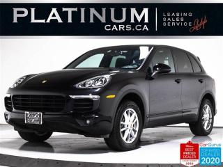 Used 2017 Porsche Cayenne Premium Plus, NAV, PANO, CAM, HEATED/VENT SEATS for sale in Toronto, ON