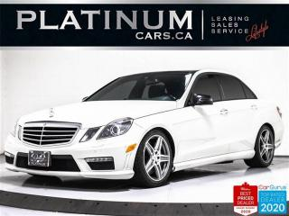 Used 2010 Mercedes-Benz E-Class E63 AMG, 518HP, V8, NAV, CAM, BLINDSPOT, HEATED for sale in Toronto, ON