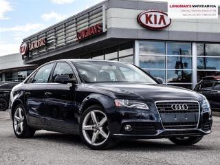 Used 2012 Audi A4 2.0T Premium Plus for sale in Markham, ON