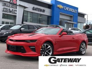 Used 2017 Chevrolet Camaro 2SS / CONVERTIBLE / AUTOMATIC / V8 for sale in Brampton, ON