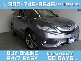 Used 2018 Acura RDX ELITE | AWD | LEATHER | SUNROOF | NAV | 1 OWNER for sale in Brantford, ON