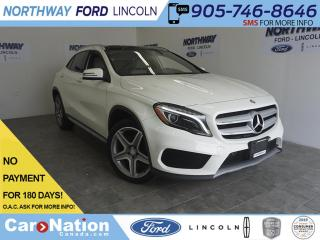 Used 2016 Mercedes-Benz GLA GLA 250 | 4MATIC | LEATHER | SUNROOF | NAV for sale in Brantford, ON