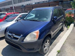 Used 2002 Honda CR-V EX w-Leather SUNROOF for sale in North York, ON