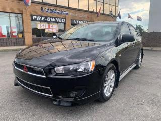 Used 2013 Mitsubishi Lancer 4dr Sdn Man SE FWD / POWER SUNROOF for sale in North York, ON