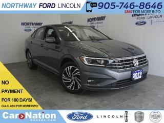 Used 2019 Volkswagen Jetta EXECLINE | LEATHER | SUNROOF | NAV | 1 OWNER for sale in Brantford, ON