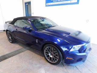 Used 2012 Ford Mustang Shelby GT500 LEATHER *MANUAL* CONVERTIBLE for sale in Listowel, ON