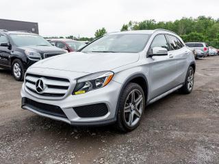 Used 2016 Mercedes-Benz GLA GLA 250 4MATIC ALERTE ANGLE MORT CUIR *NAVIGATION* for sale in St-Jérôme, QC