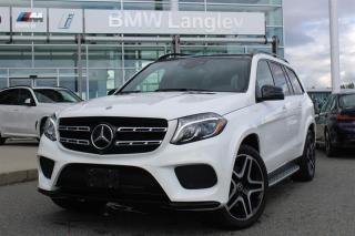 Used 2017 Mercedes-Benz GL550 4MATIC SUV for sale in Langley, BC