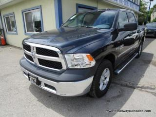 Used 2017 Dodge Ram 1500 LIKE NEW TRADESMEN MODEL 6 PASSENGER 5.7L - HEMI.. 4X4.. CREW-CAB.. SHORTY.. AUX/USB INPUT.. KEYLESS ENTRY.. TOW SUPPORT.. for sale in Bradford, ON