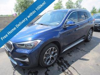 Used 2020 BMW X1 xDrive28i AWD, Leather, Navigation, Sunroof, Rain Sensing Wipers, Rear Camera, 18