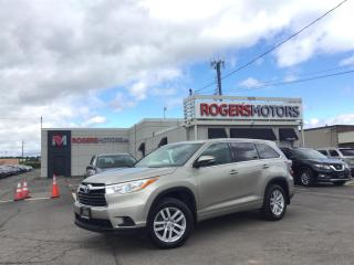 Used 2015 Toyota Highlander 2.99% Financing - LE AWD - 8 PASS - REVERSE CAM for sale in Oakville, ON
