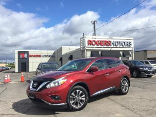 Used 2016 Nissan Murano 2.99% Financing - SV AWD - NAVI - PANO ROOF - REVERSE CAM for sale in Oakville, ON