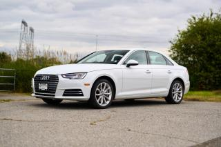 Used 2017 Audi A4 2.0T Progressiv <b>*LEATHER* *SUNROOF* *NAVIGATION* *PADDLE SHIFTERS*<b> for sale in Surrey, BC