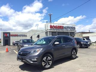 Used 2016 Honda CR-V 2.99% Financing - TOURING AWD - NAVI - SUNROOF - LEATHER for sale in Oakville, ON