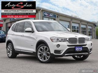 Used 2016 BMW X3 xDrive28i AWD ONLY 84K! **NAVIGATION PKG*** CLEAN CARPROOF for sale in Scarborough, ON