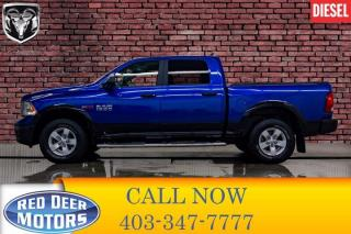 Used 2018 RAM 1500 4x4 Crew Cab Outdoorsman EcoDiesel Leather Nav for sale in Red Deer, AB