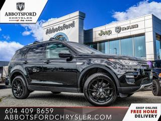 Used 2017 Land Rover Discovery Sport HSE *ACCIDENT FREE* *LOCALLY DRIVEN* for sale in Abbotsford, BC
