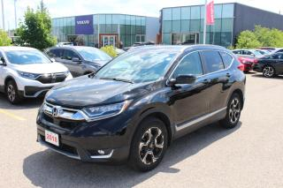 Used 2018 Honda CR-V Accident Free, One Owner CR-V Touring! Certified Powertrain Warranty Until 05/22/2025 or 160,000KM! for sale in Waterloo, ON